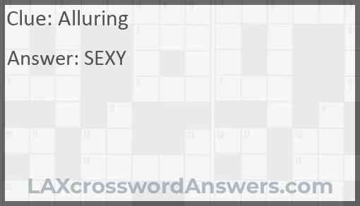 Alluring Answer