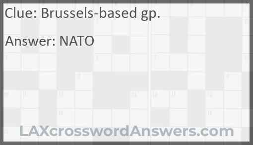 Brussels-based gp. Answer