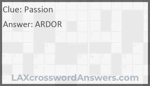 Passion Answer
