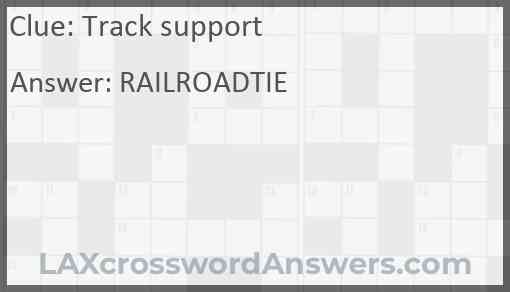 Track support Answer