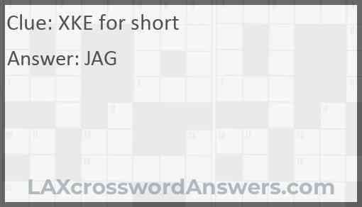 XKE for short Answer